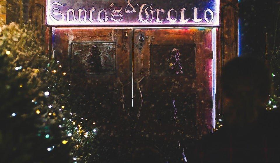 Santa's Grotto at Swansea Winter Wonderland- Gower Fresh Christmas Trees