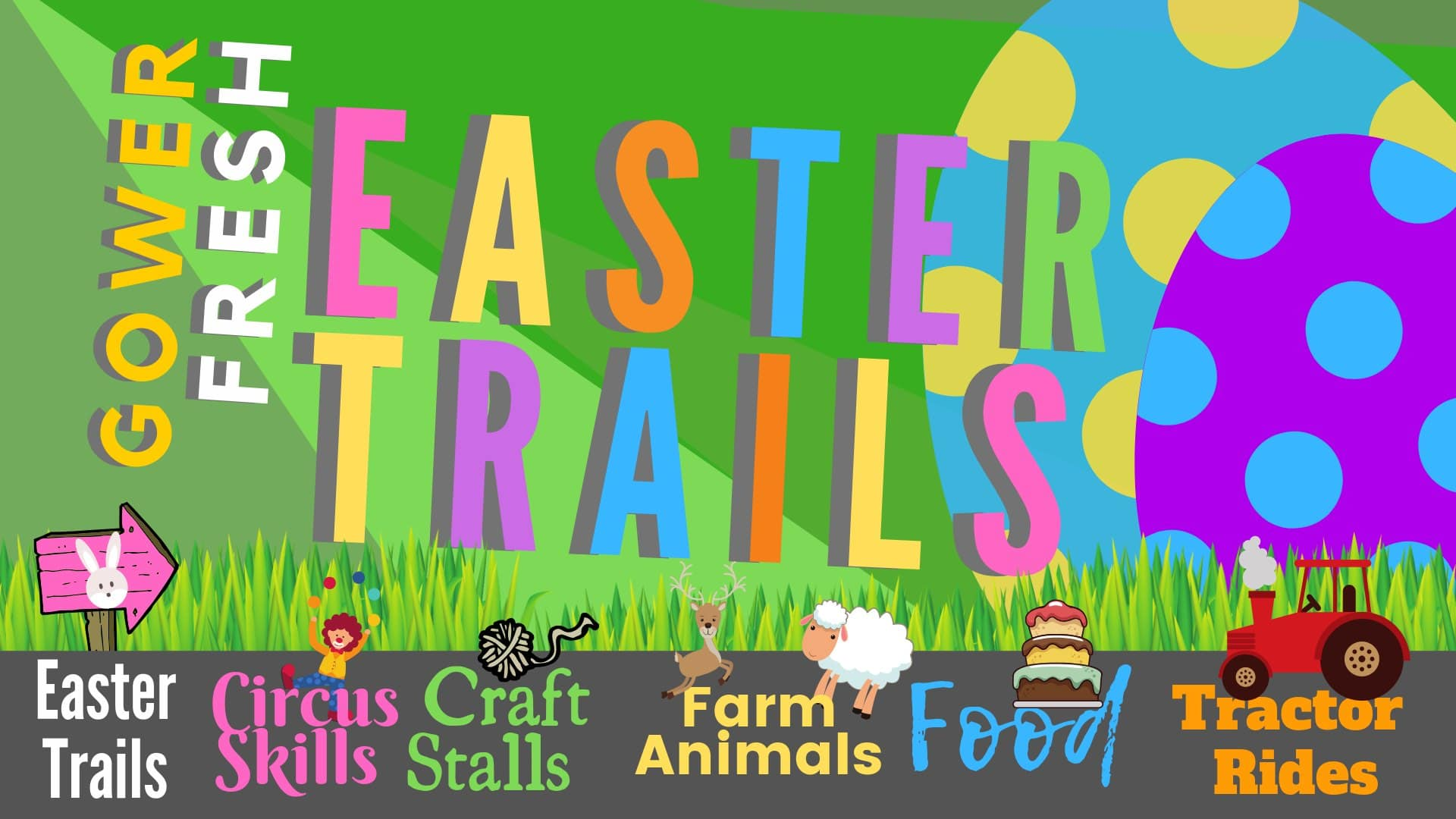 Gower Fresh Easter Trails
