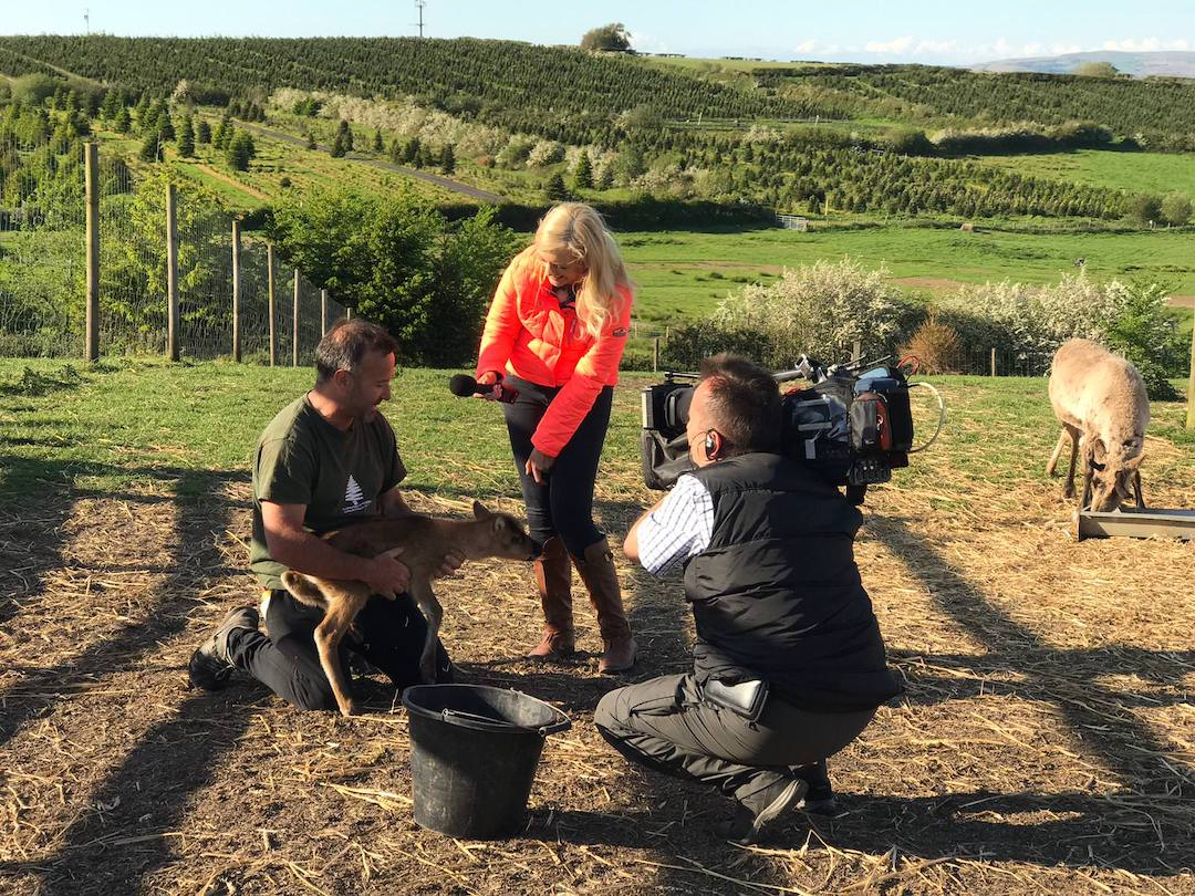 iTV Wales reporting from Gower Fresh