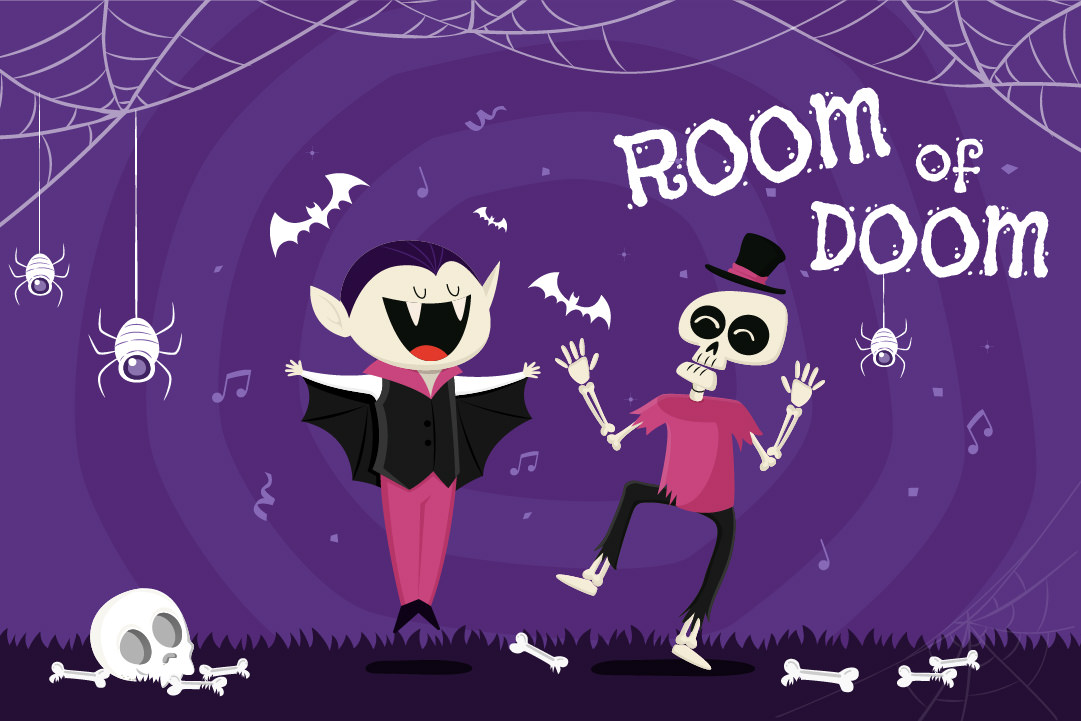 Gower Halloween- Room of Doom