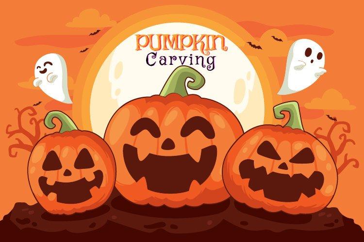 Gower Halloween- pumpkin carving