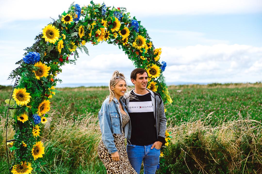Rhossili Sunflowers-Gower Fresh Christmas Trees-32
